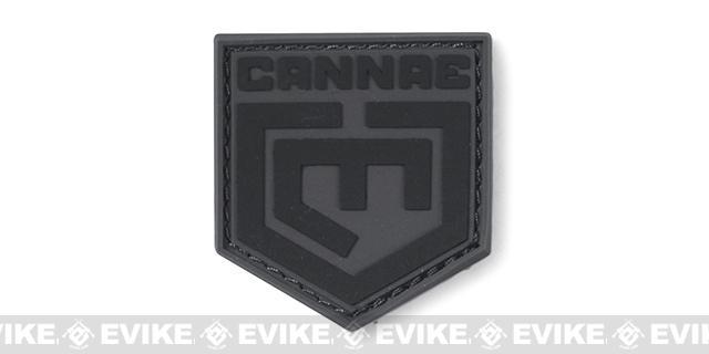 Cannae Logo PVC Morale Patch - Black