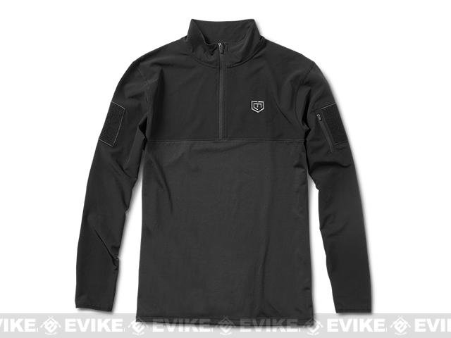 Cannae Centurion Performance Pullover - Black (Size: Large)