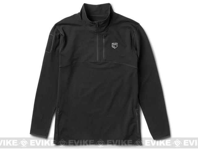 Cannae The Rig Fleece Pullover - Black (Size: Medium)
