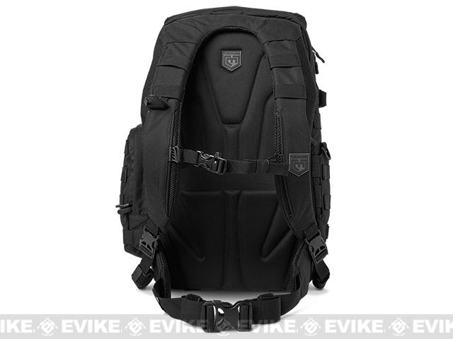 Cannae Legion Elite Day Pack with Helmet Carry - Black