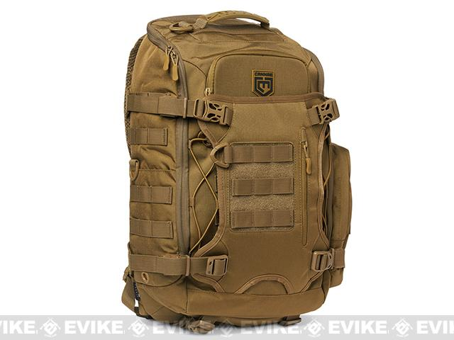 Cannae Legion Elite Day Pack with Helmet Carry - Coyote