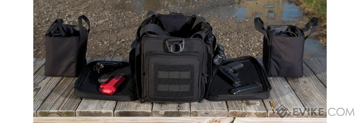 Cannae The Armory Range Bag (Color: Black)