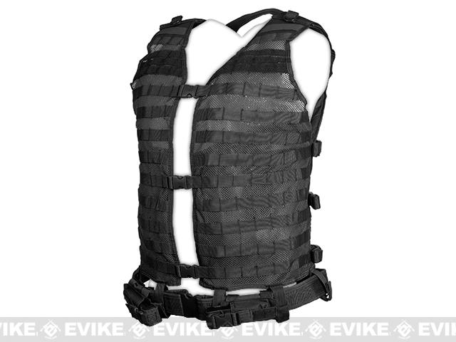 NcStar MOLLE Load Bearing Vest  2XL - Black