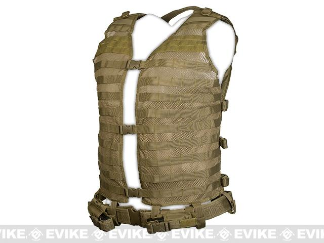 NcStar MOLLE Load Bearing Vest  2XL - Tan