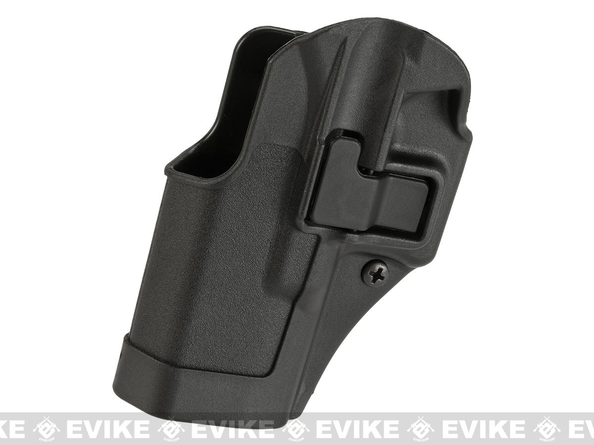 Blackhawk! Serpa CQC Concealment Holster for Glock 19 / 23 / 32 / 36 - Black (Hand: Left)
