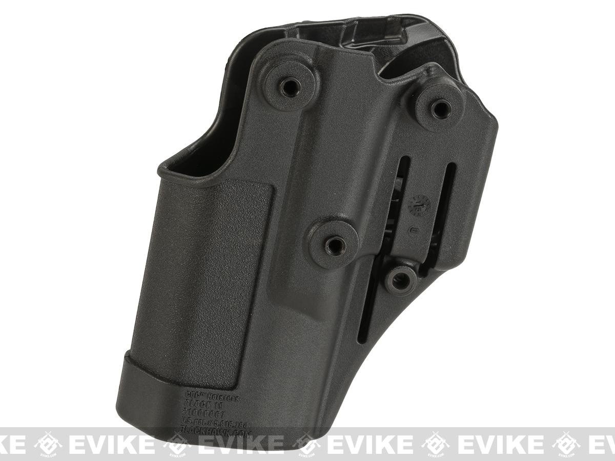 Blackhawk! Serpa CQC Concealment Holster for Glock 19 / 23 / 32 / 36 - Black (Hand: Right)
