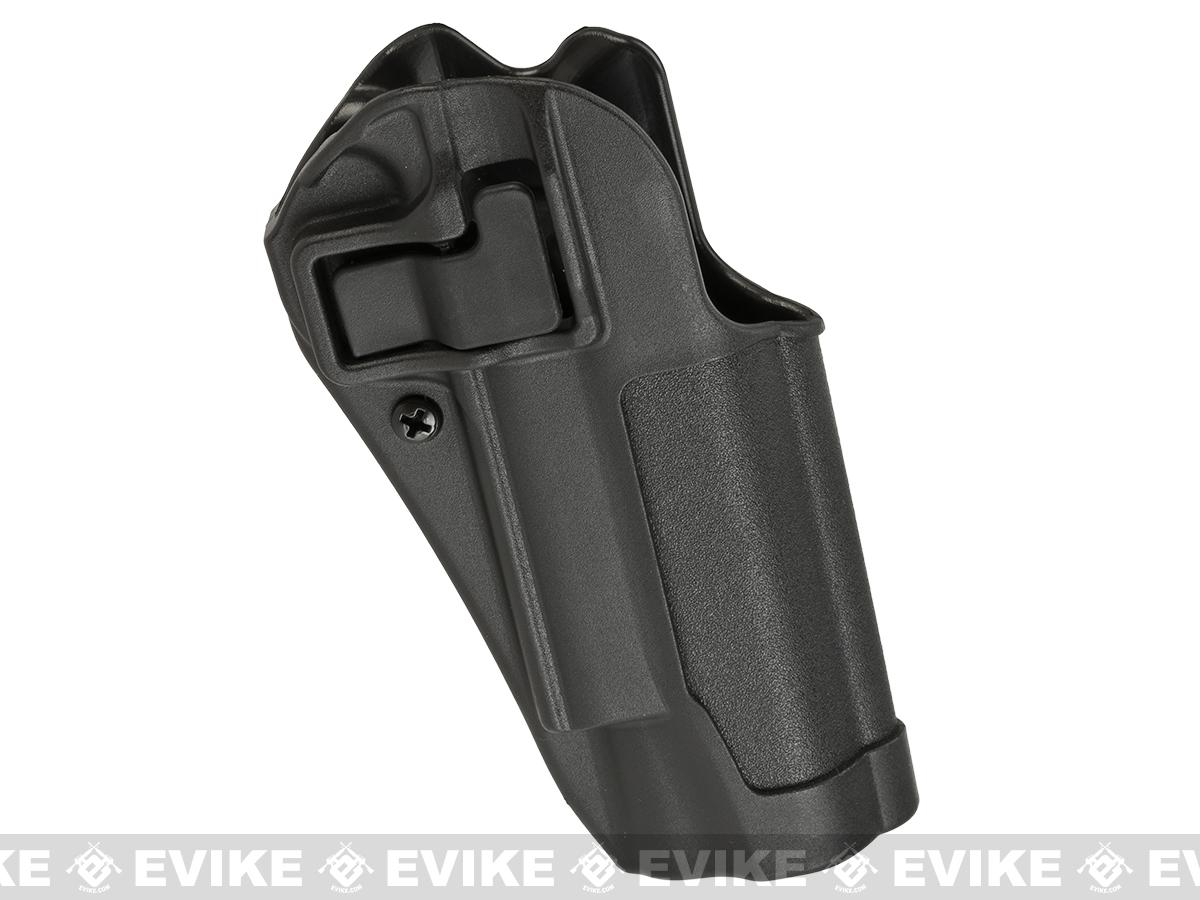 Blackhawk! Serpa CQC Concealment Holster for Colt Govt. & Most Clone 1911 Pistols w/ or w/o Std Rail - Black (Hand: Right)