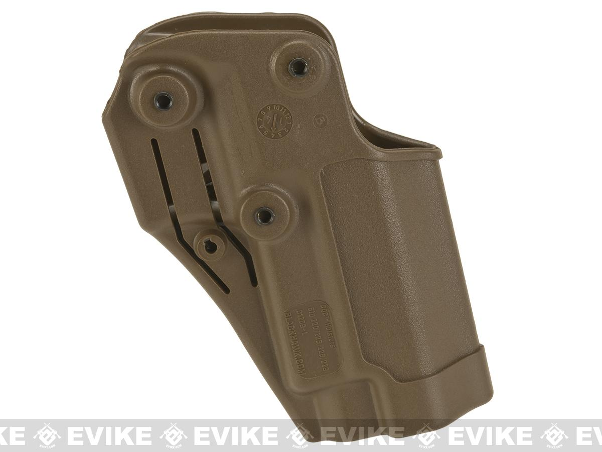 Blackhawk! Serpa CQC Concealment Holster for Sig P220 / 226 / 225 w/ or w/o Std Rails - Coyote Tan (Hand: Left)
