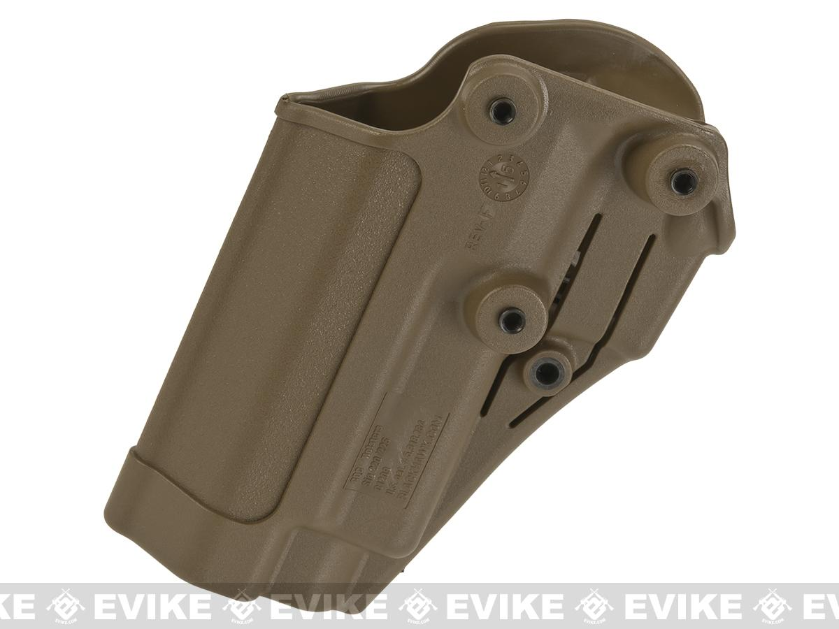Blackhawk! Serpa CQC Concealment Holster for Sig P220 / 226 / 225 w/ or w/o Std Rails - Coyote Tan (Hand: Right)
