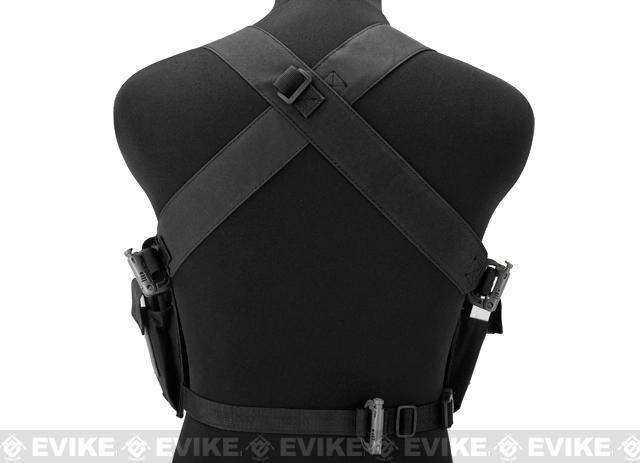 Matrix Bare Essentials Assault Chest Rig - Black