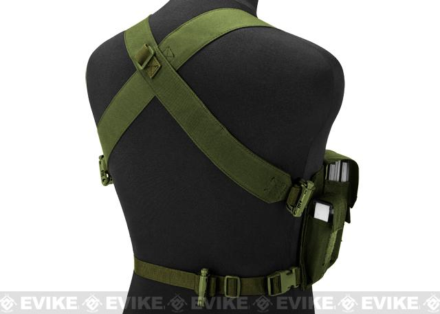 Matrix Bare Essentials Assault Chest Rig - OD Green