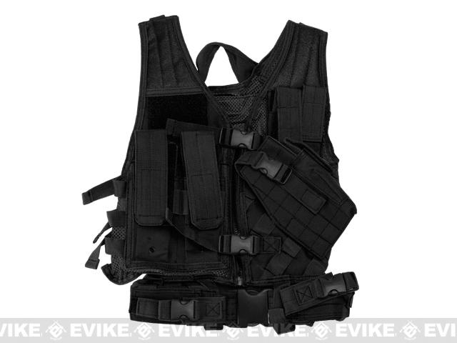 NcStar VISM Children's Tactical Vest - Black