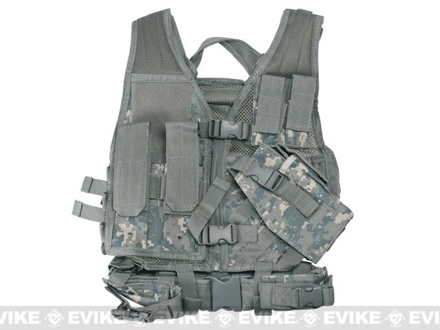NcStar VISM Children's Tactical Vest - Digital Camo