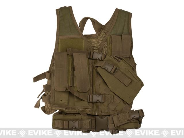 NcStar VISM Children's Tactical Vest - Tan