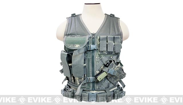 NcStar VISM Tactical Vest - Large - Digital Camo