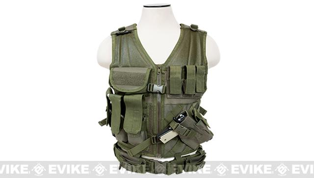 NcStar VISM Tactical Vest - Large - OD Green