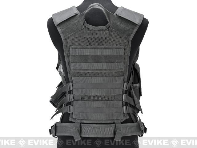 NcStar VISM Tactical Vest - Urban Gray