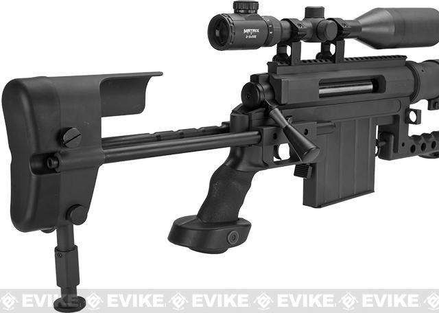 Pre-Order ETA February 2017 CheyTac Licensed M200 Intervention Bolt Action Custom Sniper Rifle (Model: Black / Custom CO2 Version)