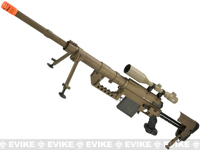 CheyTac Licensed M200 Intervention Bolt Action Custom Sniper Rifle (Model: Dark Earth / Custom CO2 Version)