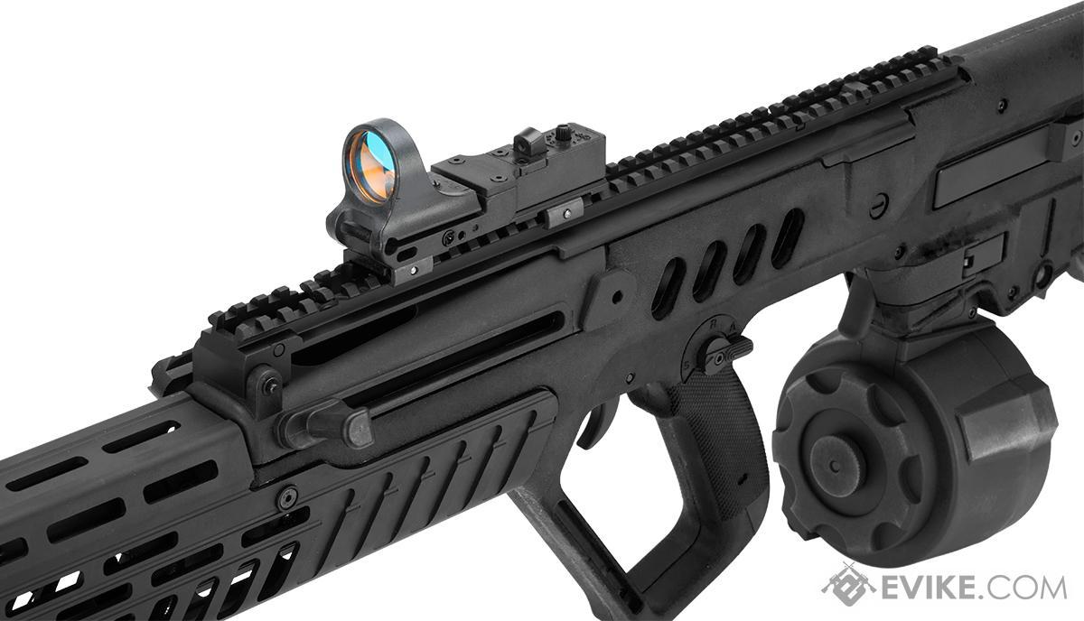 Evike.com Custom Eliminator Tavor Tar-21 AEG with Drum Magazine (Color: Black)