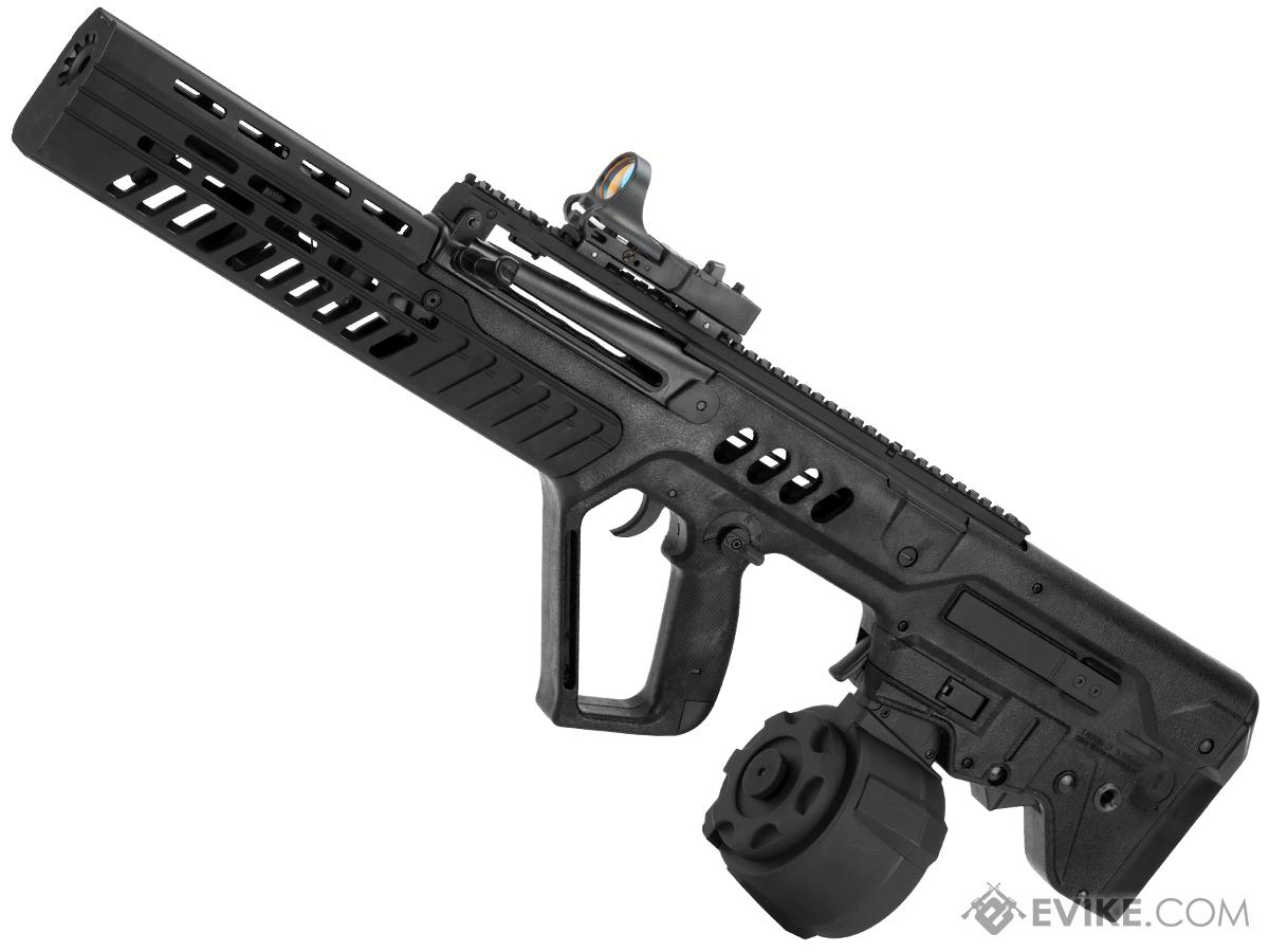 Evike.com Custom Eliminator Sportline Tavor Tar-21 AEG with Drum Magazine (Color: Black)