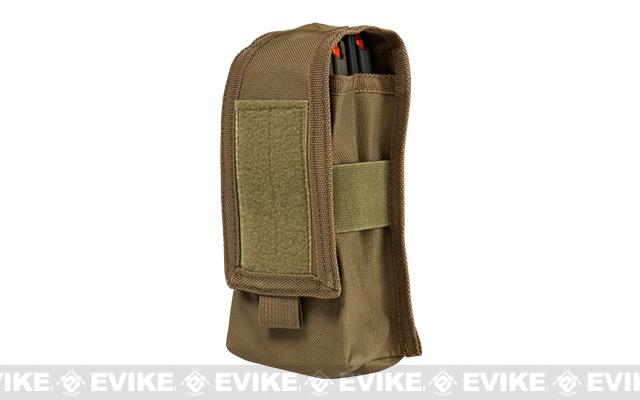 VISM by NcStar Double AR15/AK Series Magazine or Radio Pouch - Tan