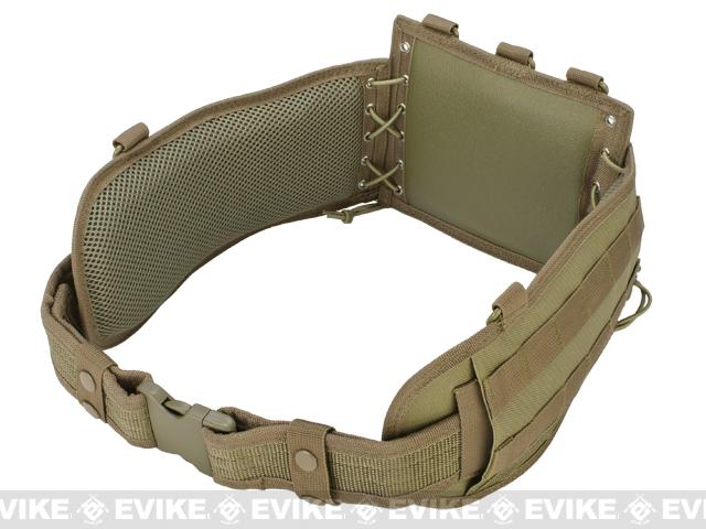 NcSTAR Battle Belt w/ Integrated Pistol Belt Set - Tan