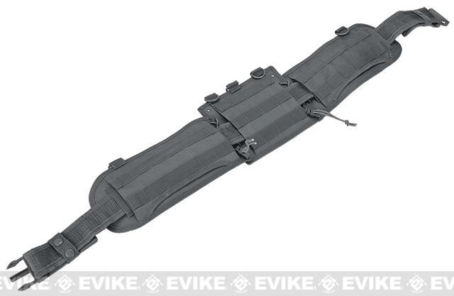 NcSTAR Battle Belt w/ Integrated Pistol Belt Set - Urban Gray