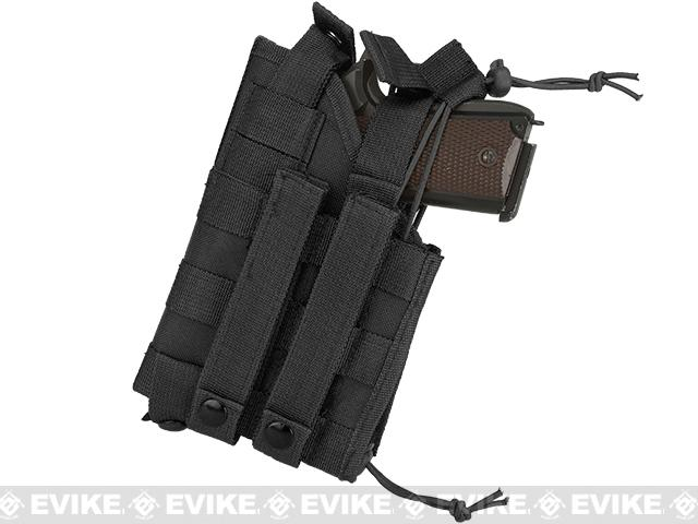 NcStar MOLLE Tactical Pistol Holster - Black