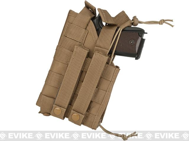 z NcStar MOLLE Tactical Pistol Holster - Tan