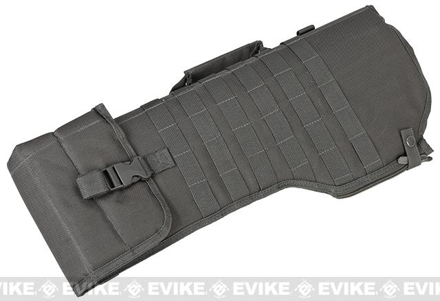 NcSTAR MOLLE Tactical Rifle / Shotgun Scabbard - Urban Grey