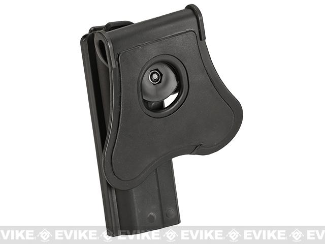 Matrix Hardshell Adjustable Holster for 1911 Airsoft Pistols (Mount: Paddle Attachment)