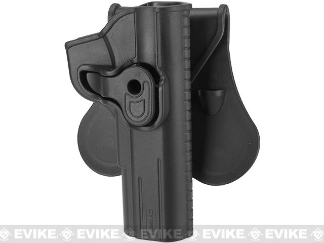 Cytac Hard Shell Adjustable Holster for TT-33 Series Pistols - Paddle Attachment