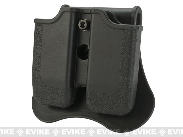 Matrix Hardshell Adjustable Magazine Holster for 1911 Series Pistol Mags (Mount: Paddle Attachment)