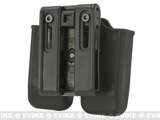 Matrix Hardshell Adjustable Magazine Holster for Sig P226 / Beretta M9 Series Pistol Mags (Mount: Belt Attachment)