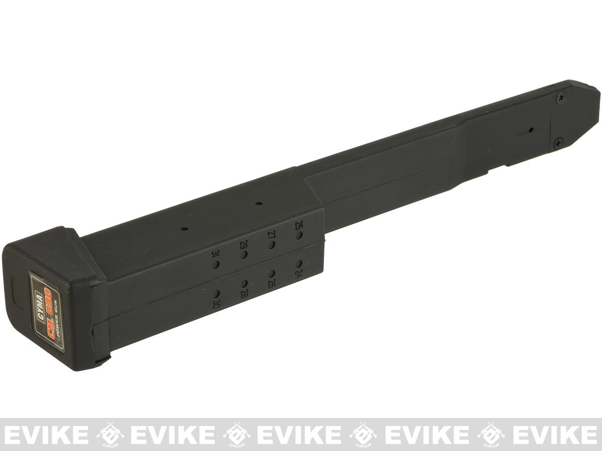 CYMA 100rd Extended Magazine for CM030 / 18C AEP Pistol