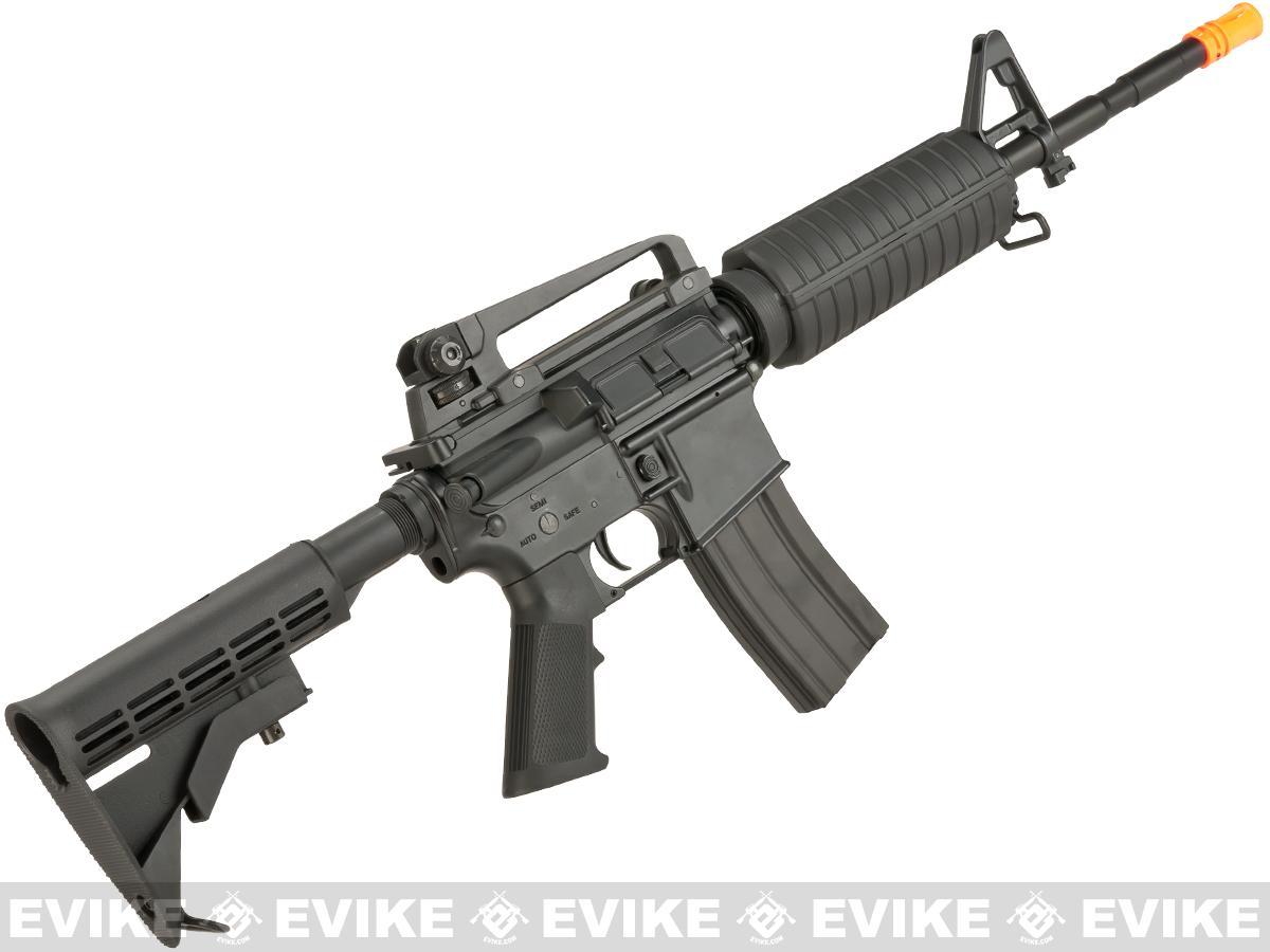 CYMA Full Metal Receiver M4 Carbine Airsoft AEG Rifle - (Package: Add Battery + Charger)