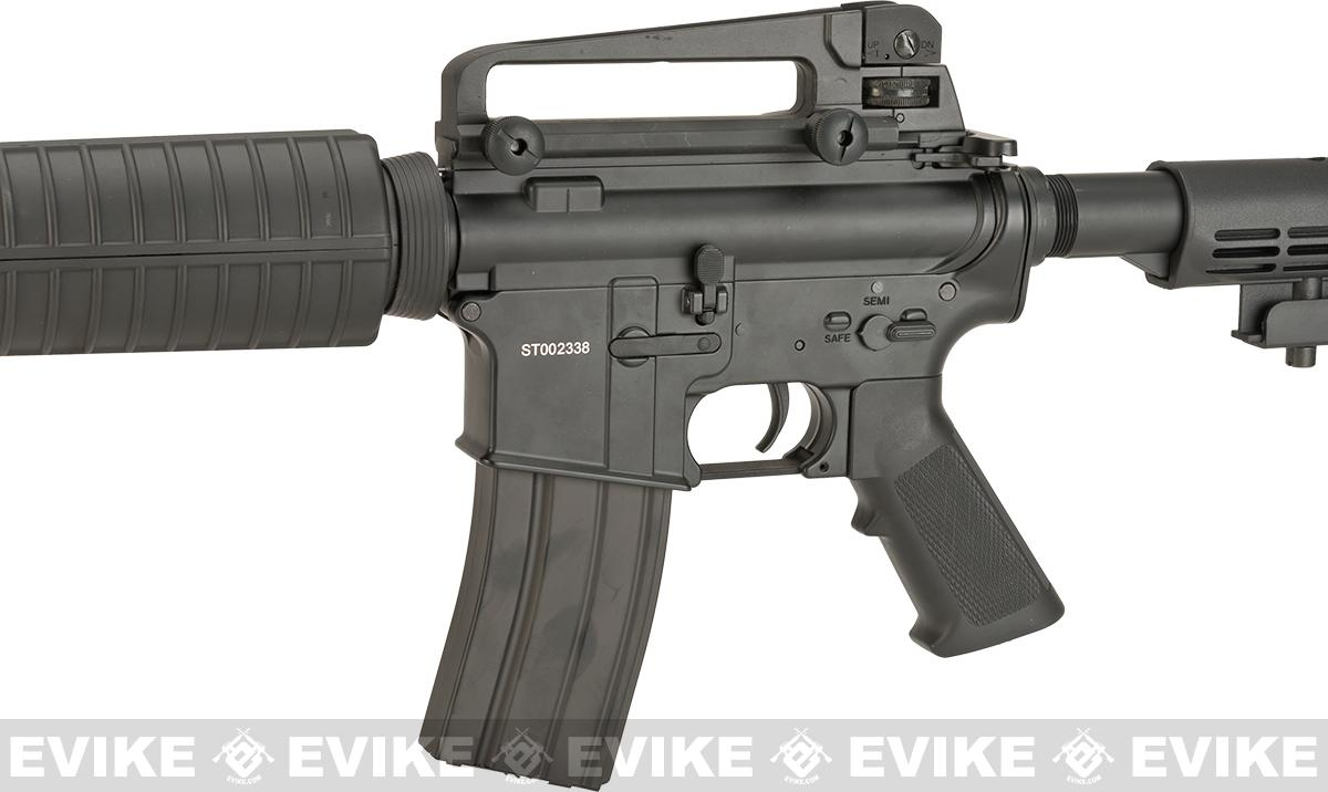CYMA Full Metal Receiver M4 Carbine Airsoft AEG Rifle - (Package: Gun Only)