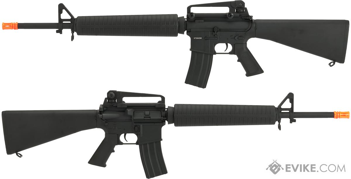 CYMA Full Metal M16 A3 Airsoft AEG Rifle - (Package: Add Battery + Charger)