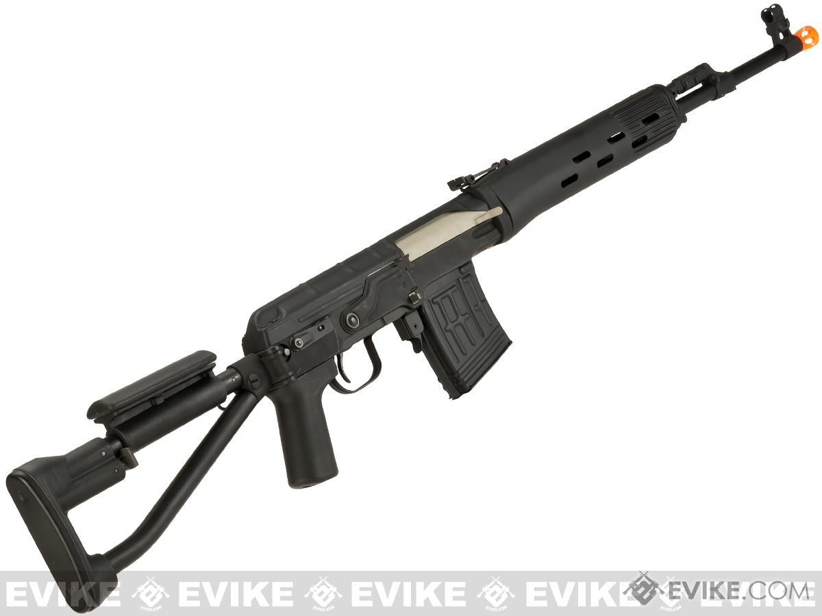 CYMA SVD-S Airsoft AEG Sniper Rifle with Folding Stock - (Package: Add Battery + Charger)