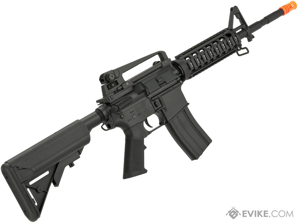 CYMA Full Metal Receiver M4 RIS Carbine Airsoft AEG Rifle  (Package: Gun Only)