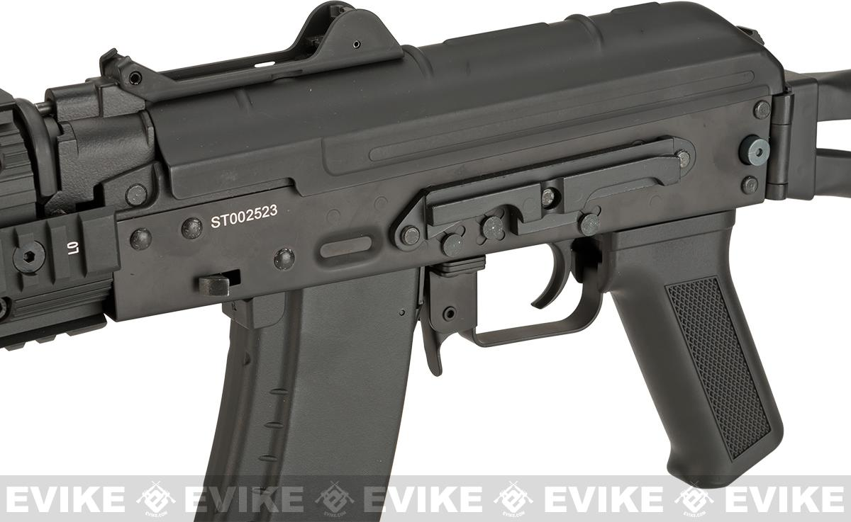 CYMA AKS-74UN RAS Airsoft AEG Rifle with Folding Stock - (Package: Gun Only)