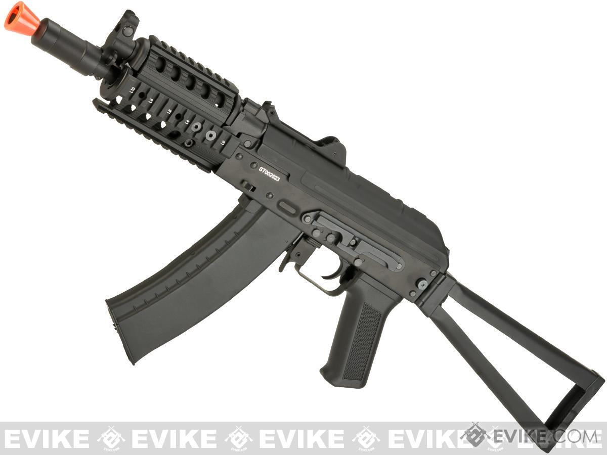 Pre-Order ETA September 2017 CYMA AKS-74UN RAS Airsoft AEG Rifle with Folding Stock - (Package: Add Battery + Charger)