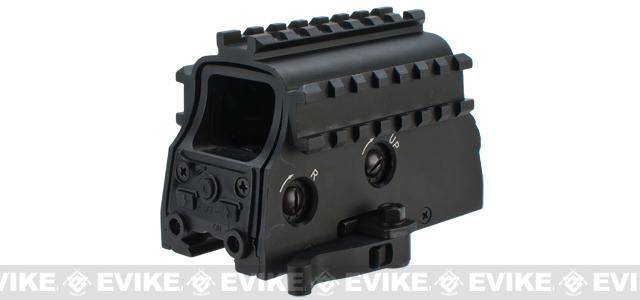 NcSTAR 3-Rail Armored Green Dot Sight w/ Laser