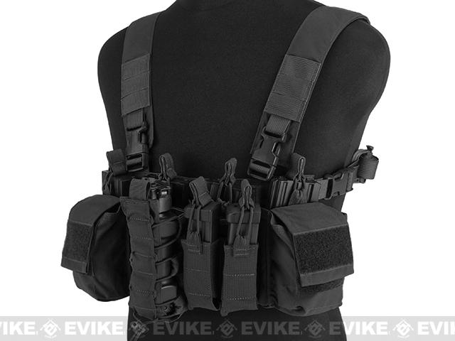 z Haley Strategic HSP D3CR Disruptive Environments Chest Rig - Black