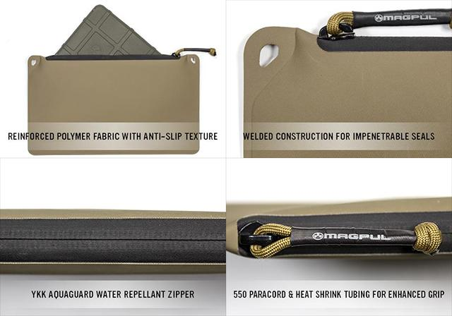 Magpul DAKA Zippered Pouch - FDE (Medium)