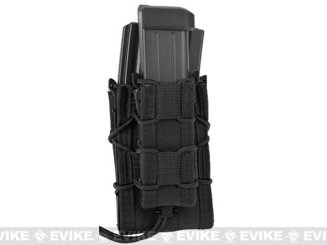 HSGI Double Decker TACO� Modular Single Rifle and Pistol Magazine Pouch - Black