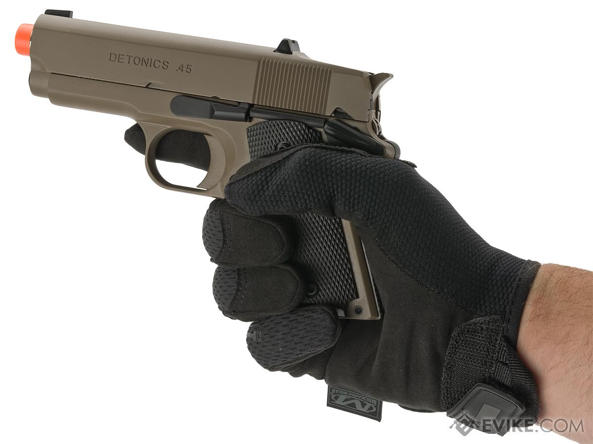 Matrix Elite Detonics 1911 .45 Combat Master Airsoft Gas Blowback Pistol (Model: Desert)