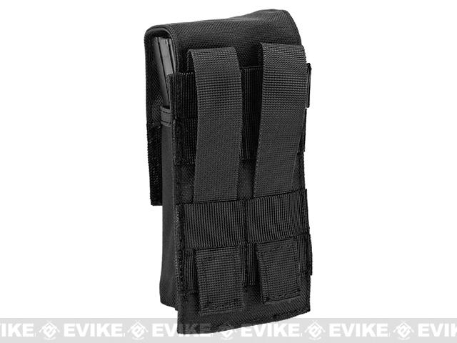 Avengers Tactical Double Stack M4 / M16 / AR Magazine Pouch - Black