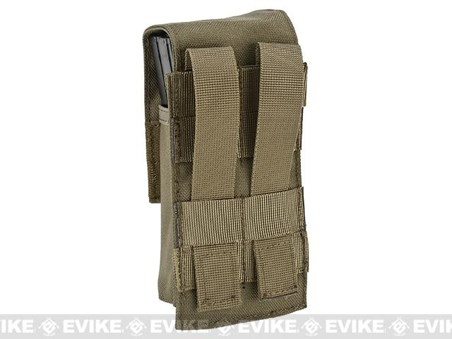 Avengers Tactical Double Stack M4 / M16 / AR Magazine Pouch - Coyote Brown